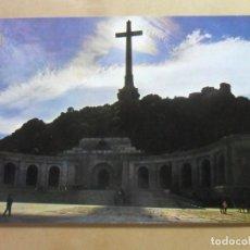 Postales: POSTAL - 36 -SANTA CRUZ DEL VALLE DE LOS CAIDOS (MADRID)-FACHADA CONTRALUZ- ED. PATRIMONIO NACIONAL. Lote 169185312