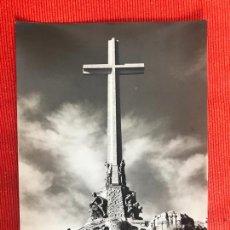 Postales: VALLE DE LOS CAIDOS MADRID VISTA POSTAL. Lote 169355000