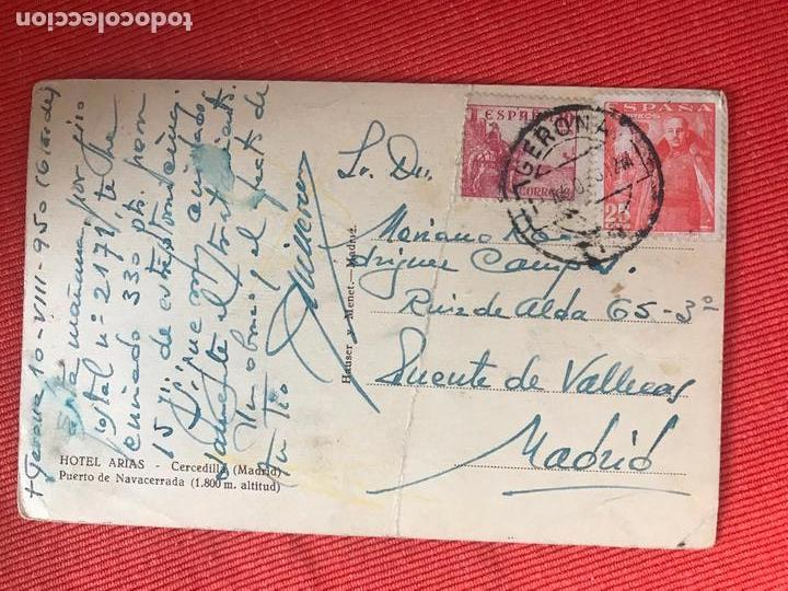 Postales: CERCEDILLA MADRID HOTEL ARIAS - Foto 2 - 169355172