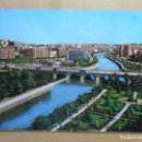 Postales: POSTAL - 2043 - MADRID - PUENTE DE SEGOVIA. RIBERA DEL MANZANARES. Lote 169356604