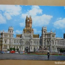 Cartes Postales: POSTAL - 102 - MADRID - PALACIO DE COMUNICACIONES / LA CIBELES - ED. BEASCOA. Lote 169441816