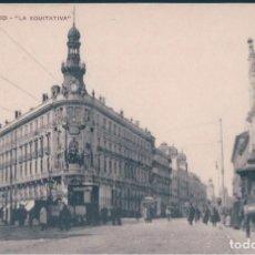 Postales: POSTAL MADRID - LA EQUITATIVA - MH. Lote 169605164