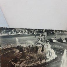 Postales: MADRID FUENTE DE CIBELES 1959. Lote 169691622