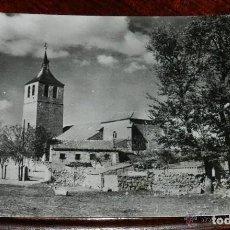 Postales: ANTIGUA POSTAL DE GALAPAGAR, MADRID, IGLESIA PARROQUIAL, N.3, CIRCULADA.. Lote 170175924