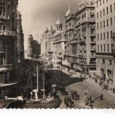 Postales: POSTAL DE MADRID - VISTA PARCIAL DE LA AVENIDA DE JOSÉ ANTONIO. Lote 170258516