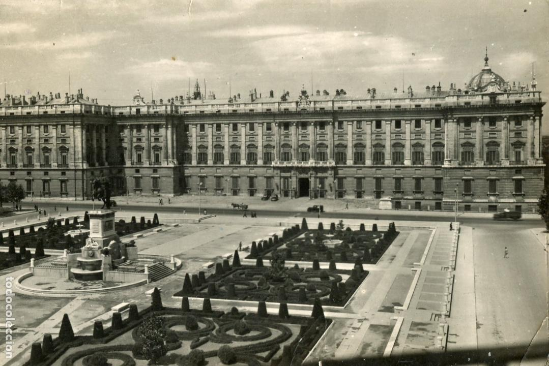 MADRID. PALACIO NACIONAL. DOMINGUEZ (Postales - España - Madrid Moderna (desde 1940))