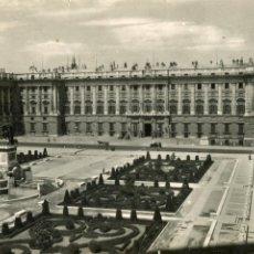 Postales: MADRID. PALACIO NACIONAL. DOMINGUEZ. Lote 170285164