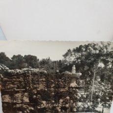 Postales: MADRID PARQUE DEL RETIRO ROSALEDA 1958. Lote 170287892