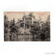 Postales: MADRID.- EXPOSICIÓN DE INDUSTRIAS MADRILEÑAS 1907. AZUCARERA DE MADRID - LA POVEDA. SELLO URGENTE. . Lote 170641565