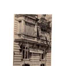 Postales: MADRID.- CALLE DE ZURBANO 21 CASA DE LA CONDESA DE ARCENTALES CONSTRUIDA POR J. GRAU. Lote 170726490