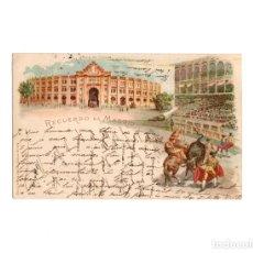 Postales: MADRID.- RECUERDO DE MADRID, PLAZA DE TOROS.. Lote 170915780