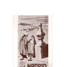 Postales: MADRID.- CARTEL FIESTAS DE 1910. AYUNTAMIENTO DE MADRID. DIANA, CONCURSO DE BANDAS, BATALLA FLORES.. Lote 170977828