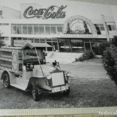 Postales: ALBUM CON 18 FOTOGRAFIAS DE LA CABALGATA DE REYES DE 1969 DE MADRID, CARROZAS DE COCA COLA, FANTA, D. Lote 171018052