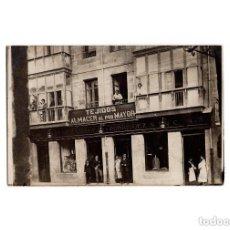 Postales: MADRID.- TEJIDOS ALMACEN AL POR MAYOR. MARTIÑEZ RIDRUEJO Y RODRIGUEZ. FUENCARRAL. 96. P. FOTOGRÁFICA. Lote 171110437