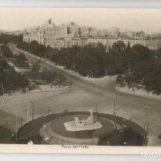 Postales: POSTAL FOTOGRAFICA ANTIGUA DE MADRID- EDICIONES ARRIBAS N.24 -PASEO DEL PRADO- SIN CIRCULAR. Lote 171302937