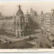 Postales: POSTAL FOTOGRAFICA ANTIGUA DE MADRID- ED ARRIBAS N.7-CALLE ALCALA Y AVDA JOSE ANTONIO-SIN CIRCULAR. Lote 171303898