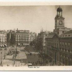 Postales: POSTAL FOTOGRAFICA ANTIGUA DE MARID-EDICIONES ARRIBAS Nº 33-PUERTA DEL SOL-SIN CIRCULAR. Lote 171305590