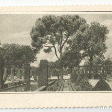 Postales: POSTAL FOTOGRAFICA ANTIGUA DE MADRID-EDICIONES GARCIA GARABELLA-JARDINES ZOOLOGICO-SIN CIRCULAR. Lote 171306373