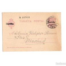 Postales: MADRID.- LIBRERÍA RELIGIOSA HERMANOS PAZ. REPÚBLICA.. Lote 171343619