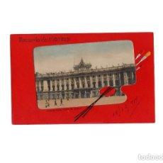 Postales: MADRID.- RECUERDO DE MADRID. PALACIO REAL PLAZA DE ARMAS.. Lote 171343707