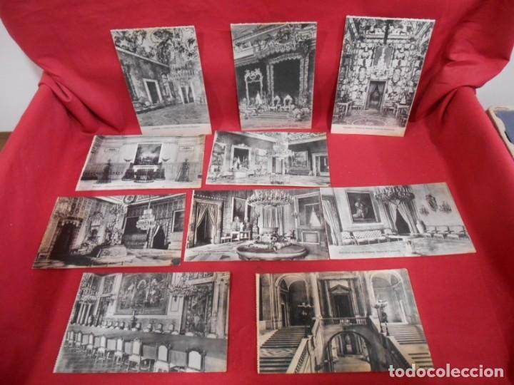 LOTE DE DIEZ POSTALES DEL PALACIO DE ORIENTE - MADRID - (Postales - España - Comunidad de Madrid Antigua (hasta 1939))