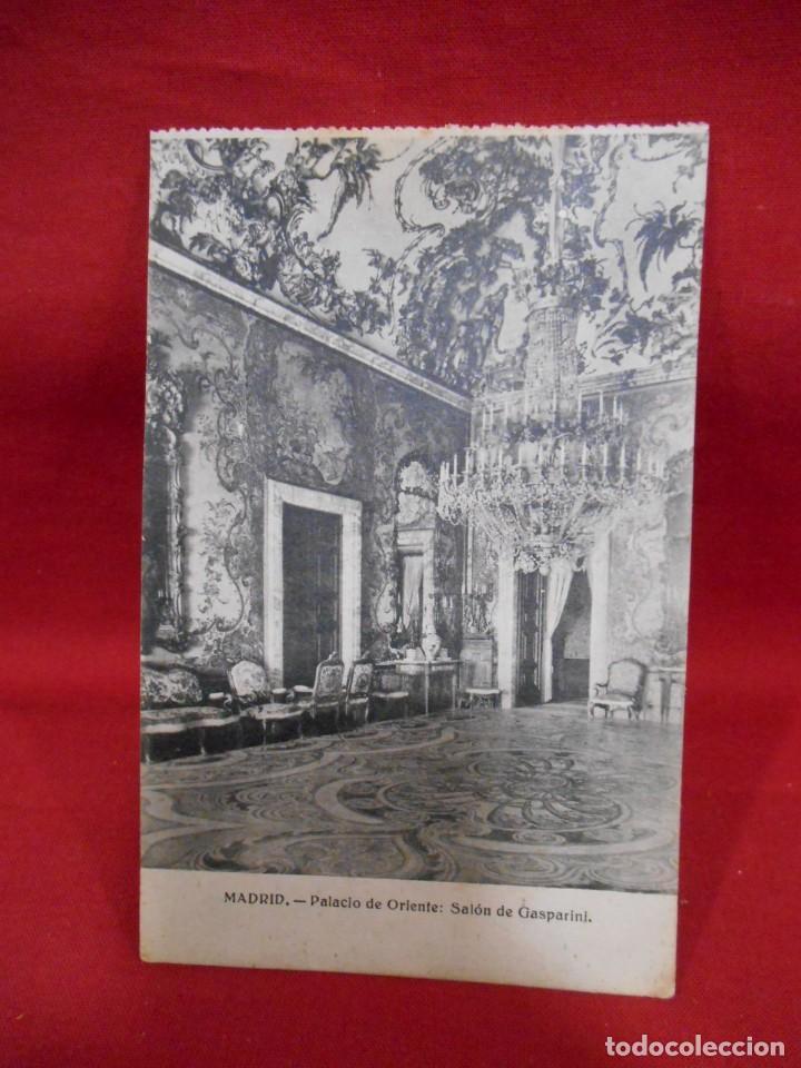 Postales: LOTE DE DIEZ POSTALES DEL PALACIO DE ORIENTE - MADRID - - Foto 2 - 171351039