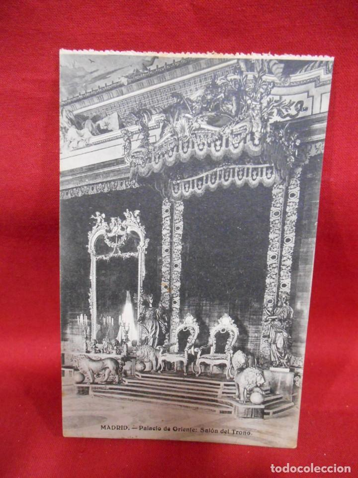 Postales: LOTE DE DIEZ POSTALES DEL PALACIO DE ORIENTE - MADRID - - Foto 4 - 171351039