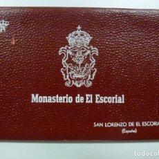 Postales: BLOC DE 10 POSTALES DEL MONASTERIO DEL ESCORIAL. GARCÍA GARRABELLA. PATRIMONIO NACIONAL.. Lote 171501633