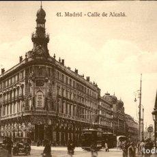 Postales: MADRID – CALLE ALCALA - 9 X 14 CMS. Lote 172155678