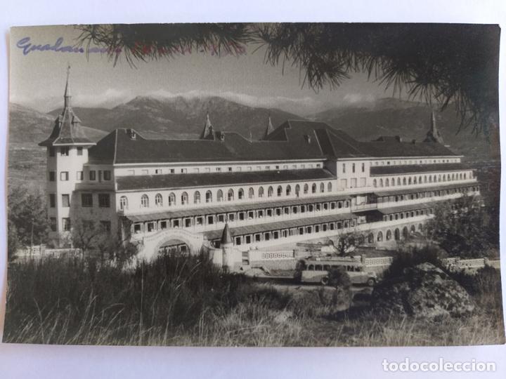 POSTAL DE GUADARRAMA (MADRID). SANATORIO MILITAR GENERALISIMO. AÑOS 50 (Postales - España - Madrid Moderna (desde 1940))