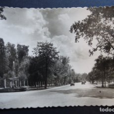 Postales: MADRID, ANTIGUA POSTAL CIRCULADA DEL PASEO DEL PRADO. Lote 172904120