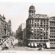 Postales: POSTAL MADRID AVENIDA DE JOSÉ ANTONIO . Lote 174029345