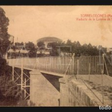 Postales: TORRELODONES MADRID VIADUCTO DE LA COLONIA DE VERGARA TARJETA POSTAL ANTIGUA. Lote 174087483