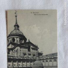 Postales: POSTAL EL ESCORIAL, PATIO DE LOS EVANGELISTAS, 1909, EDICION. E. VENTHEY. Lote 174213075