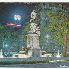Postales: 92 - MADRID.- SALON DEL PRADO. FUENTE DE LAS CONCHAS. ASPECTO NOCTURNO.. Lote 174222010