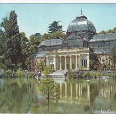 Postales: 39- MADRID.- PARQUE DEL RETIRO Y PALACIO DE CRISTAL.. Lote 174222354