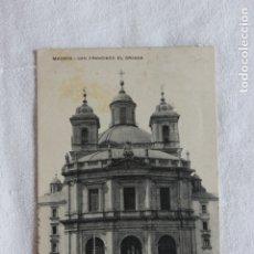 Postales: POSTAL SAN FRANCISCO EL GRANDE, MADRID, 1921, DIRIGIDA A MAZARRON. Lote 174222614