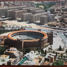 Postales: POSTAL VISTA ÁEREA PLAZA DE TOROS DE MADRID. Lote 174307734