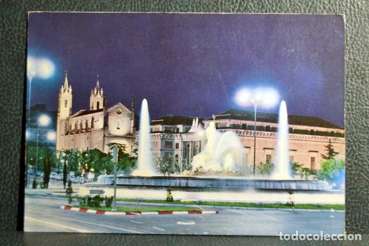 FUENTE DE NEPTUNO - MADRID 97 - POSTALES ALCALA - 1969 (Postales - España - Madrid Moderna (desde 1940))