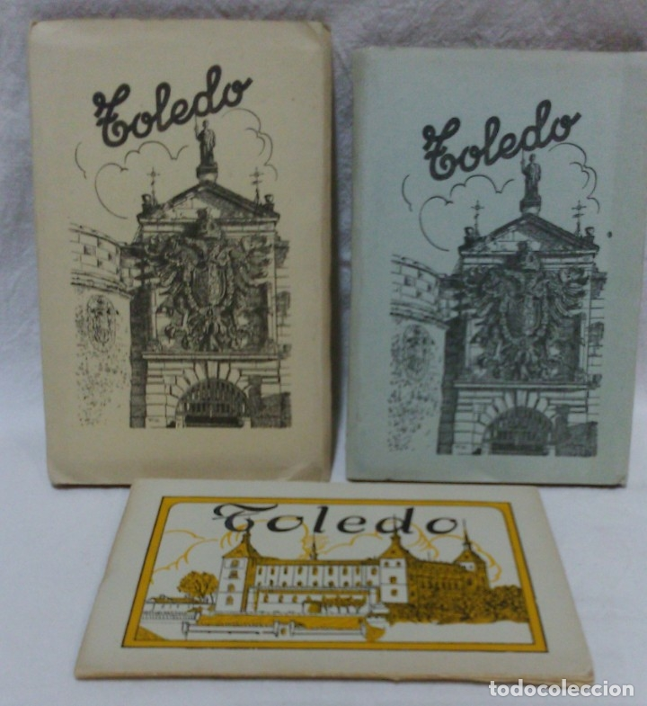 ALBUMES 1Y 2 TARJETAS POSTALES TOLEDO. ED,GARCIA GARRABELLA.OTRO DE OBSEQUIO.VER DESCRIPCIÓN (Postales - España - Comunidad de Madrid Antigua (hasta 1939))
