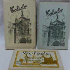 Postales: ALBUMES 1Y 2 TARJETAS POSTALES TOLEDO. ED,GARCIA GARRABELLA.OTRO DE OBSEQUIO.VER DESCRIPCIÓN. Lote 174640380