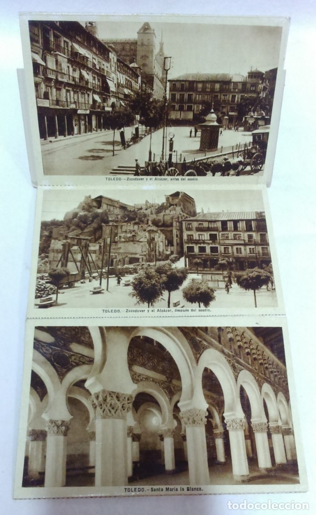 Postales: ALBUMES 1Y 2 TARJETAS POSTALES TOLEDO. ED,GARCIA GARRABELLA.OTRO DE OBSEQUIO.VER DESCRIPCIÓN - Foto 10 - 174640380