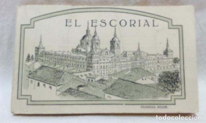 Postales: LOTE ANTIGUOS ALBUMES TARJETAS POSTALES EL ESCORIAL,COMPLETOS.SIN ESCRIBIR.70 POSTALES.VER . - Foto 2 - 174647069