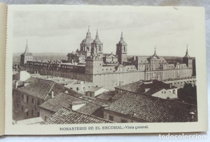Postales: LOTE ANTIGUOS ALBUMES TARJETAS POSTALES EL ESCORIAL,COMPLETOS.SIN ESCRIBIR.70 POSTALES.VER . - Foto 3 - 174647069