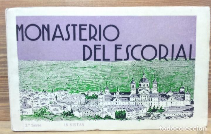 Postales: LOTE ANTIGUOS ALBUMES TARJETAS POSTALES EL ESCORIAL,COMPLETOS.SIN ESCRIBIR.70 POSTALES.VER . - Foto 7 - 174647069