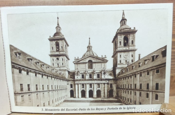 Postales: LOTE ANTIGUOS ALBUMES TARJETAS POSTALES EL ESCORIAL,COMPLETOS.SIN ESCRIBIR.70 POSTALES.VER . - Foto 9 - 174647069