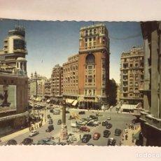 Postais: MADRID. POSTAL NO.1005, PLAZA DEL CALLAO. EDITA: GARCIA GARRABELLA (H.1960?) NO CIRCULADA.... Lote 175025417