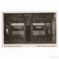 Postales: MADRID.- VIENA REPOSTERÍA. PORTADA. CARRERA DE SAN JERÓNIMO 16.. Lote 175103979