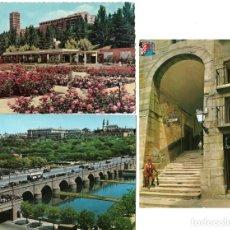Postales: LOTE 3 POSTALES DE MADRID , DOS CIRCULADAS - EDITADAS POR BEASCOA Y GARRABELLA. Lote 175123932