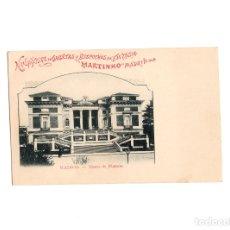 Postales: MADRID.- MUSEO DE PINTURAS. EDITADA POR FÁBRICA DE GALLETAS MARTINHO.. Lote 175341884